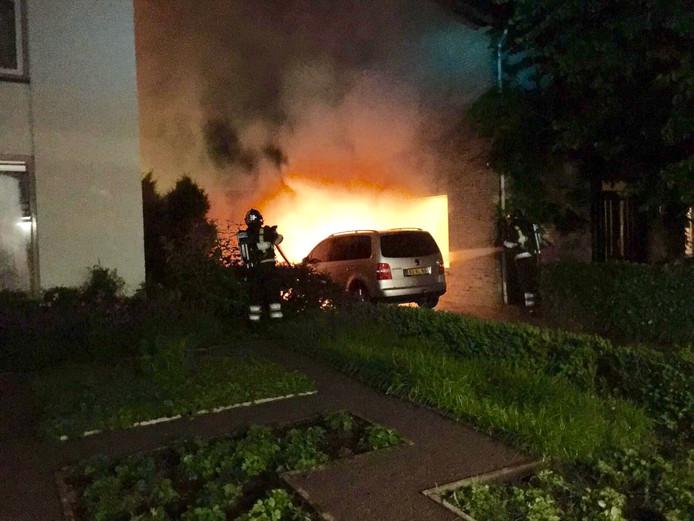 Autobrand in Riethoven