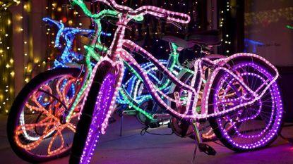 Versier je fiets met kerstlichtjes voor Light My Bike