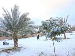 Bagdad sous la neige: un phénomène rarissime
