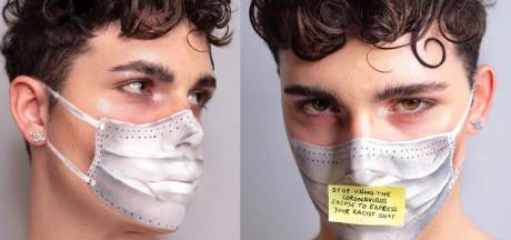 Un make-up artist italien fait passer un message fort au sujet du coronavirus