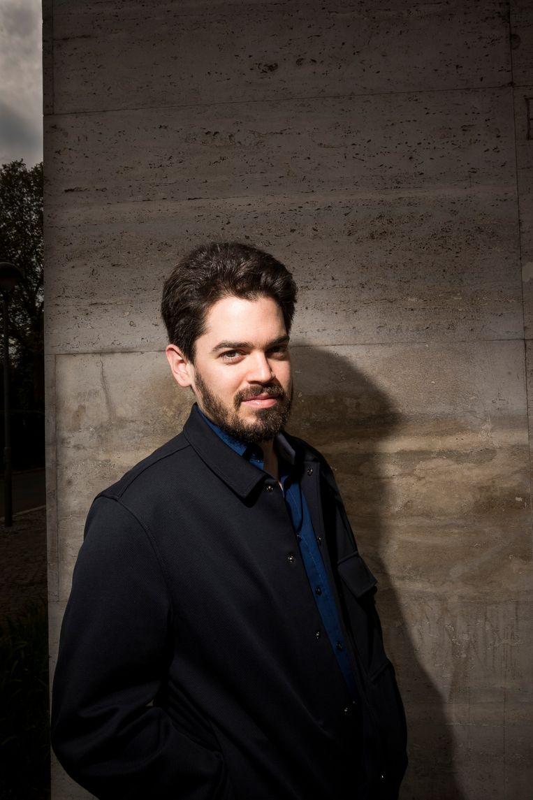 Dirigent Lahav Shani. Beeld Christoph Neumann