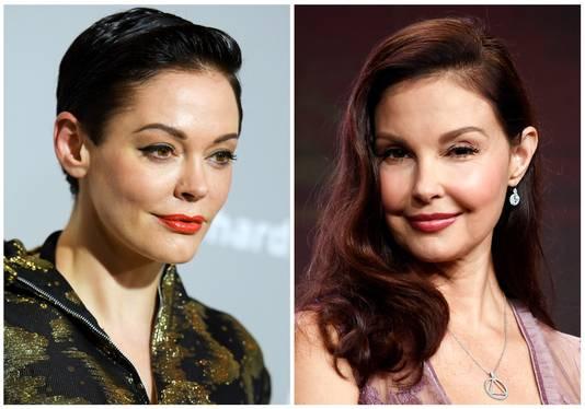 Rose McGowan en  Ashley Judd