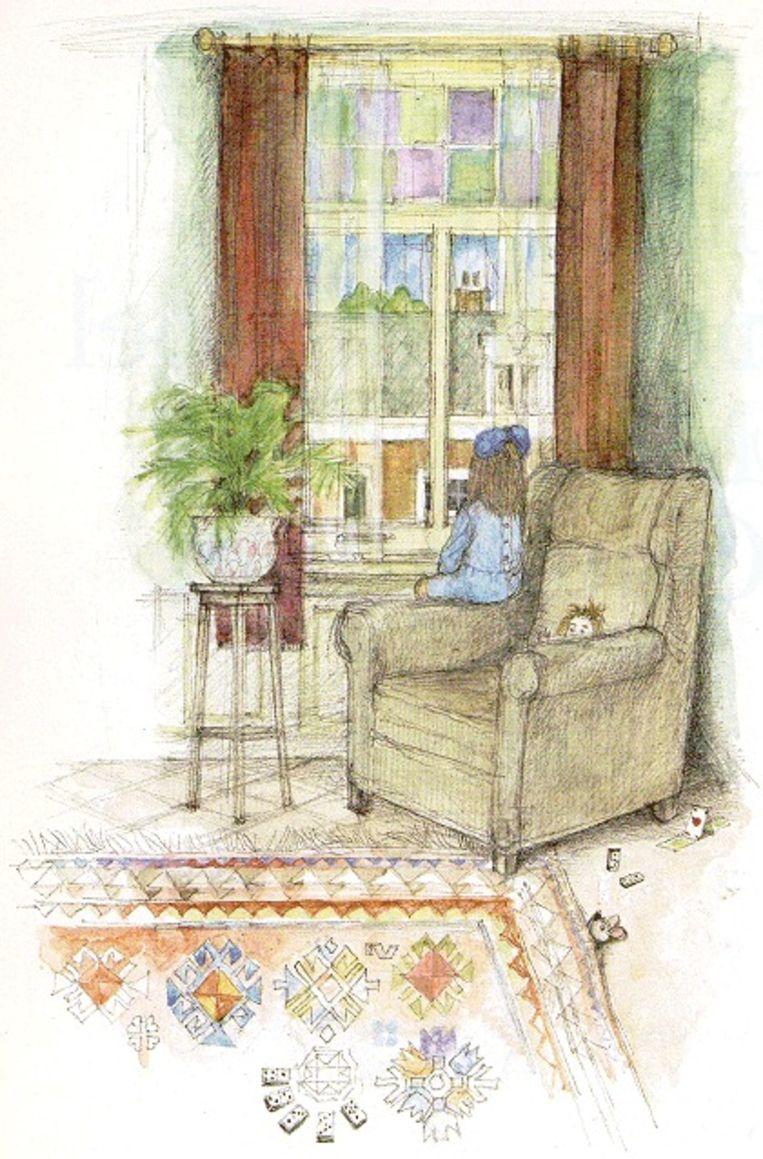 Illustratie uit Ik woonde in een leunstoel Beeld dbnl