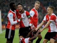 LIVE | Feyenoord leidt halverwege comfortabel tegen PSV dankzij treffers Berghuis