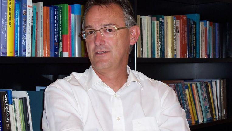 Ad Kerkhof, hoogleraar VU. Beeld VU