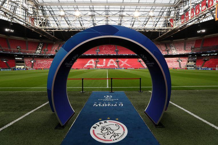 De Johan Cruijff Arena. Beeld BSR Agency
