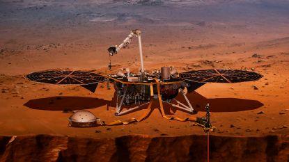 Robot van NASA registreert 'marsbevingen'