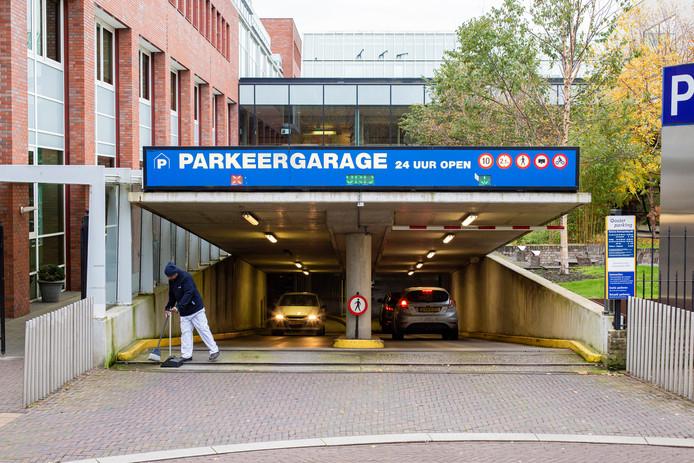 Parkeergarage OLVG Oost.