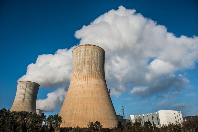 De kernreactor van Tihange