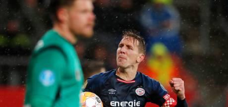 Luuk de Jong is dit seizoen zijn gewicht in goud waard voor PSV