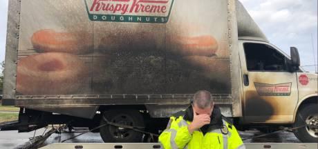 Wereldwijde steun voor agenten die treuren om verbrande donuts