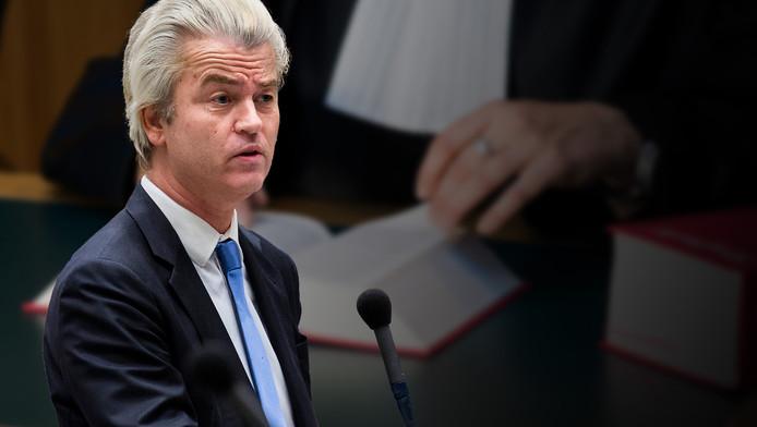 PVV-Kamerlid Geert Wilders.