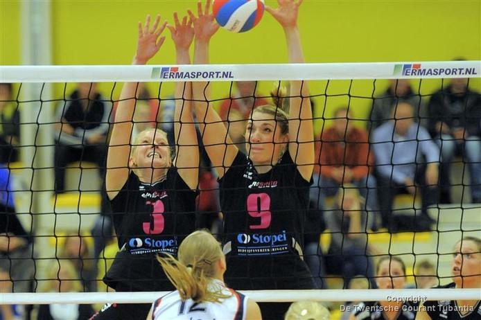 Eurosped/TVT versloeg zaterdag op overtuigende wijze VC Sneek: 3-0.