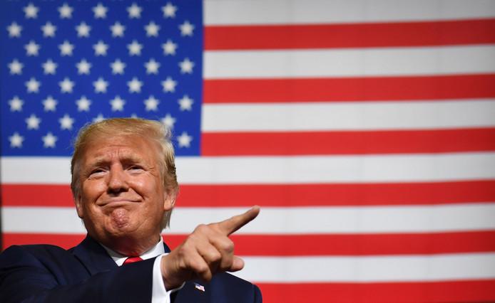 Donald Trump, président des États-Unis.