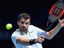 Ongeslagen Dimitrov ten koste van Sock naar finale ATP Finals