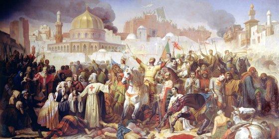 Kruisvaarders mengden zich met bevolking in het Oosten