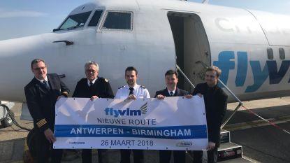 VLM vliegt weer naar Birmingham