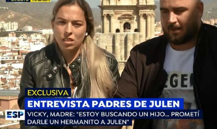 De ouders van Julen verklaarden eind september dat ze opnieuw in verwachting zijn. Voor Victoria 'Vicky' García en José Rosello is het om het even of het een jongen of een meisje wordt, al zouden ze een jochie wel helemaal te gek vinden.