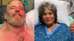 """Koppel na meer dan een week levend teruggevonden: """"Overleefd door uit plas te drinken"""""""