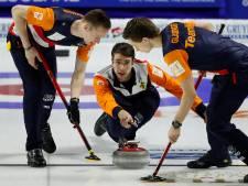 Curlingmannen verliezen opnieuw op EK