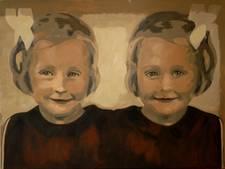 Kleine Anna in spiegelbeeld