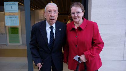 94 jarige oud-strijder Alex Noyon stemt