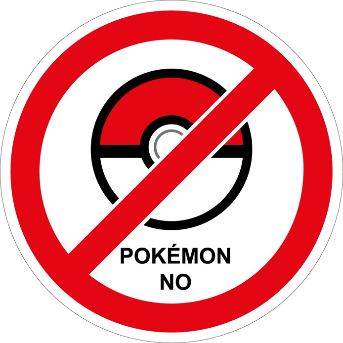 Pokémon No sticker