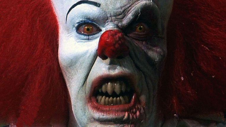 De clown It, uit het gelijknamige boek van Stephen King. Beeld /