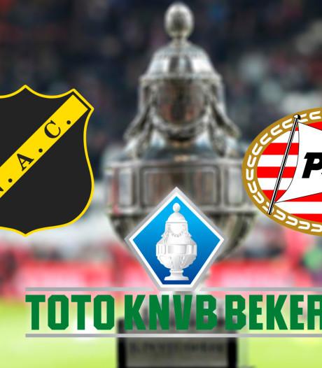 Brabants onderonsje: NAC en PSV jagen op kwartfinale