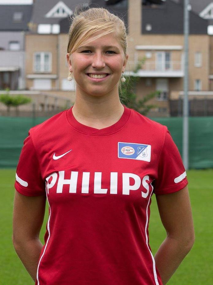 Merel Groenen verlaat PSV/FC Eindhoven. foto Ron Hendriks