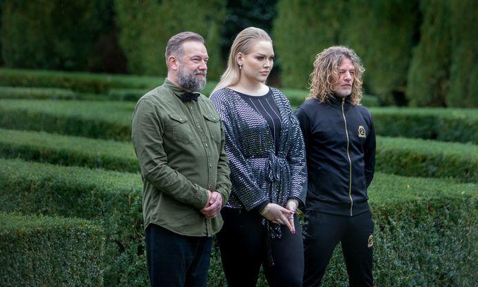 Wie is de Mol de finalisten Jeroen Kijk in de Vegte ,Nikkie de Jager en Tygo Gernandt.