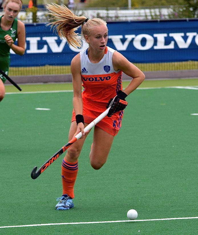 Oranje-Rood-hockeyster Kim Hendrix.
