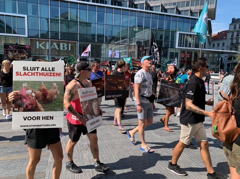 Animal Rights March in Brussel