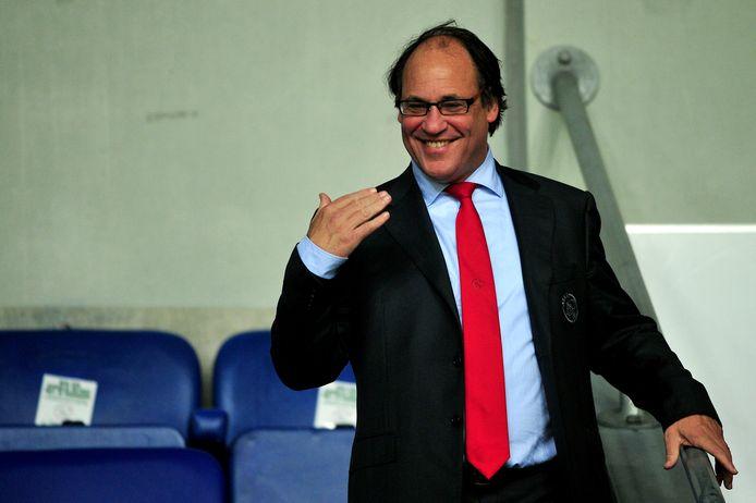 Henri van der Aat tijdens zijn periode als bestuurder bij Ajax.