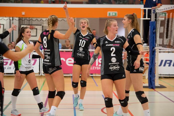 Eurosped won ook haar negende wedstrijd van dit seizoen.