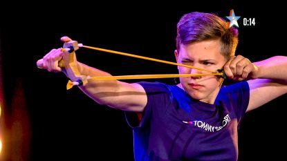 Katapultkampioene Taylor (13) toont kunnen in nieuw seizoen Belgium's Got Talent