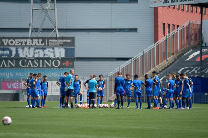 Training FC Den Bosch