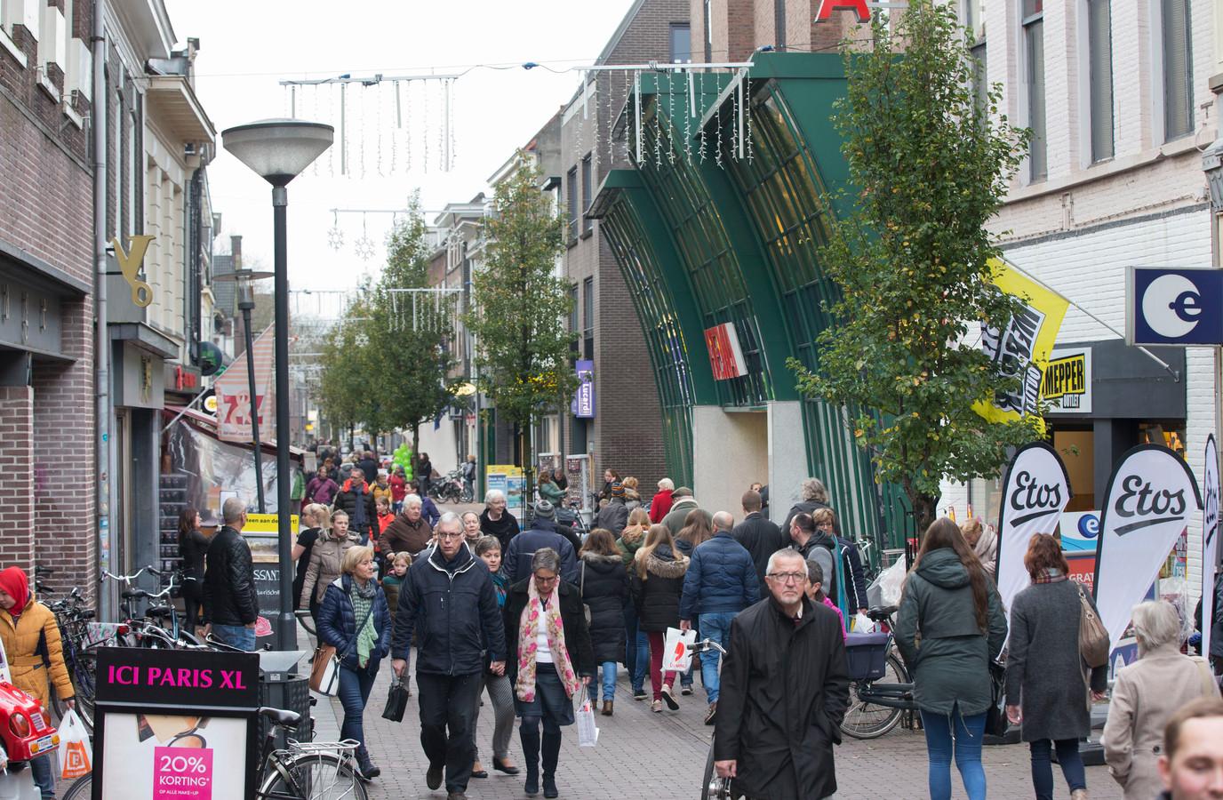 De Hoogstraat in Wageningen