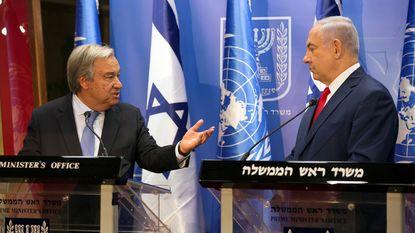 """VN-baas verdedigt """"droom"""" van Palestijnse staat"""