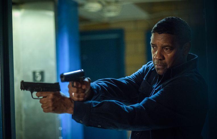 Denzel Washington als Robert McCall in Equalizer 2. Beeld Filmstill