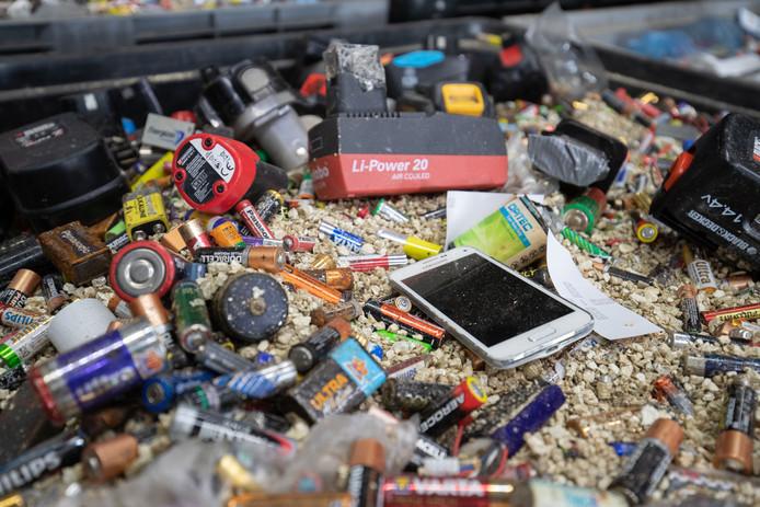 Ieder gezin heeft gemiddeld 113 batterijen in huis.