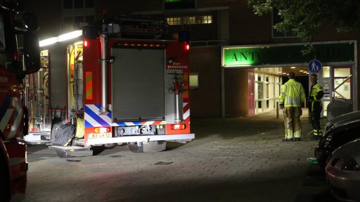 Rook in woning door pannetje op het vuur in Roosendaal