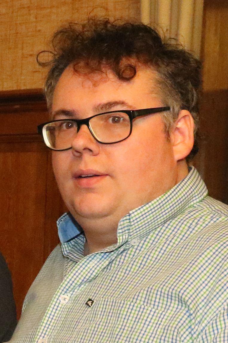 Gemeenteraadslid Matti Vandemaele