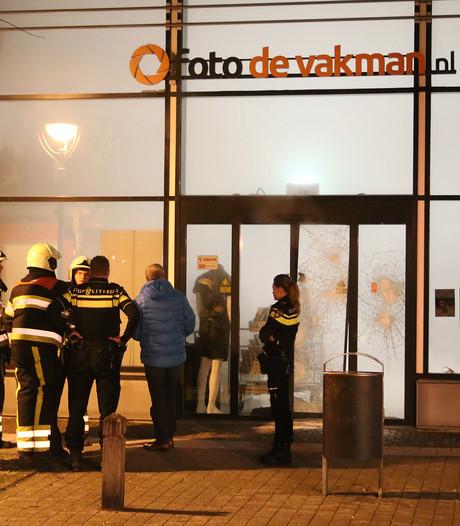 VIDEO: Niets gestolen bij snelkraak Uden dankzij rookgordijn in winkel