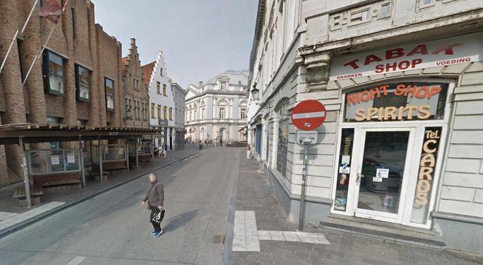 De feiten speelden zich af in de Kuipersstraat.