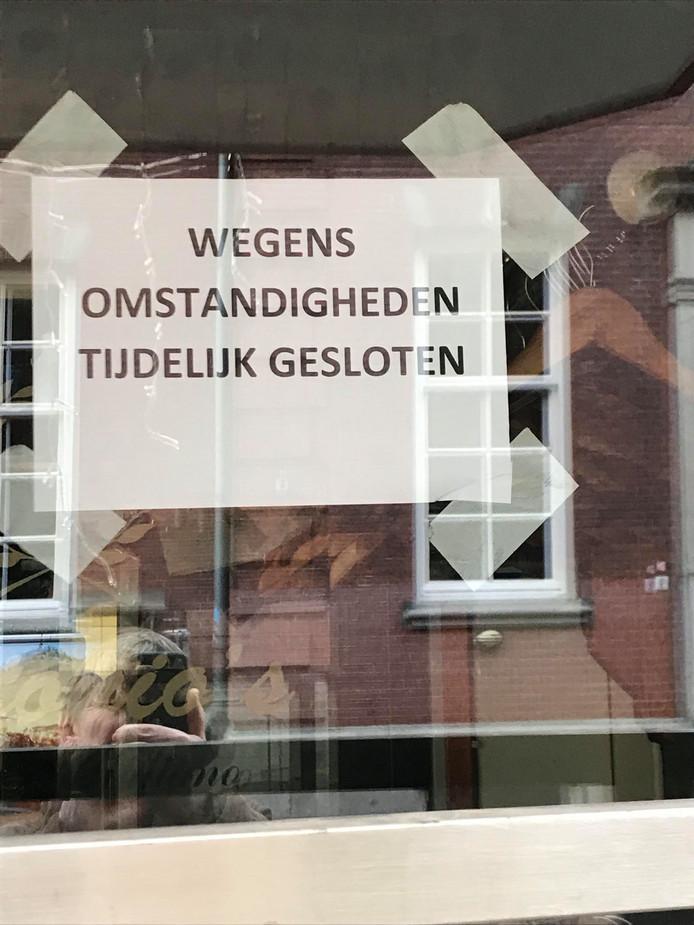 Antonio's aan de Dommelstraat in Eindhoven.