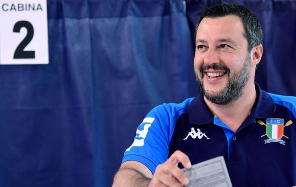 Matteo Salvini van de Lega