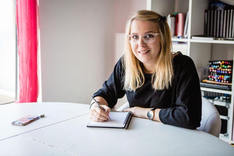 Prudence Geerts heeft dagelijks een potlood en papier in de hand.