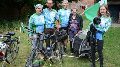 Met de fiets naar Esperanto wereldcongres in Lissabon