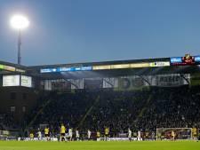 Led-schermen wederom later in Rat Verlegh Stadion